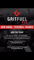Personal Trainer position (part-time)
