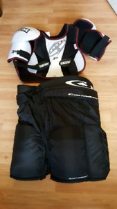2 piece Hockey equipment