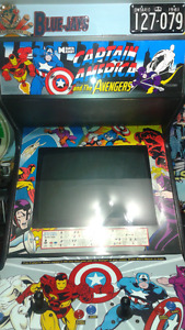 Captain America and The Avengers 1991 Data East Arcade Machine