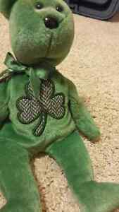 Collectable St. Patrick's Day Beanie Baby