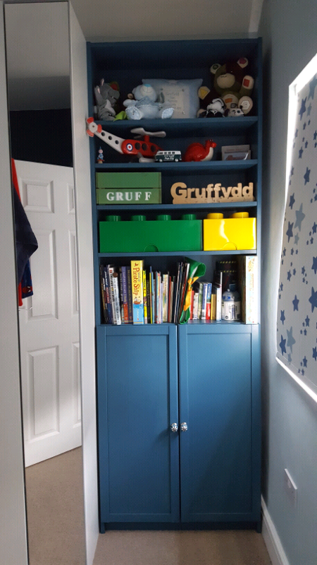 Painted Ikea Billy Bookcase In Whitchurch Cardiff Gumtree