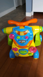 Walker which converts to a ride on toy