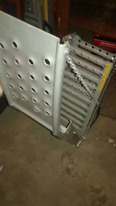 Two-Way Load or Lift Steel Ramp Pair