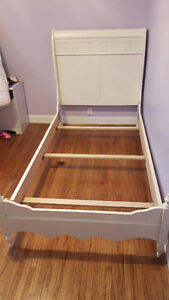 White Kids Bed Frame from Sears