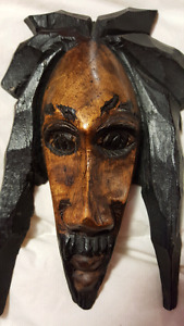 Decorative face from Jamaica