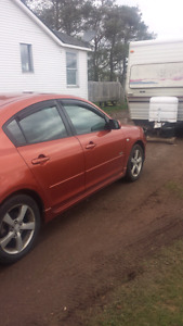Two 2004 mazda 3 gt!