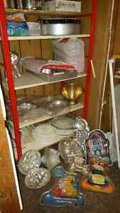 32 + Cake Pans,decorating tools,most new