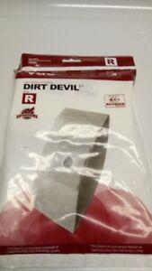 """Brand new package of Dirt Devil """"R""""  Vacuum Bags - 3 in Package"""