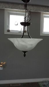 TWO MATCHING  CEILING LIGHTS