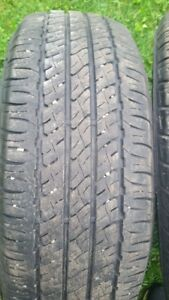 "Pair of 205/65/16"" Tires (M+S) Also pair of 225/60/16"" (A/S)"