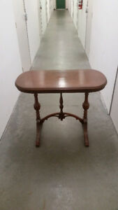 Antique Table: James A Cole