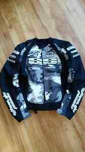 Strength and Speed Protective Motorcycle Jacket- Size Medium