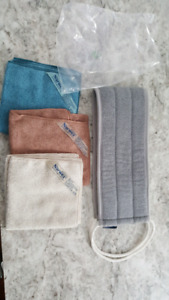 New norwax set body cloths and back washer