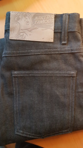 New Jeans Denim Naked and Famous Japanese sz28 (unaltered)