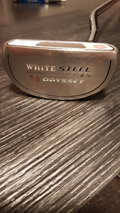 Odyssey White Steel #5 RH with Cover