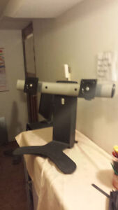 Used Monitor Stand Supporting Two Monitor for Sale