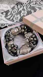Dragonflies and Butterfly bracelet - vintage