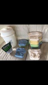 Bum Genius Cloth diaper set