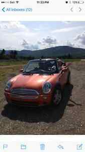 2005 MINI Mini Cooper Orange Convertible
