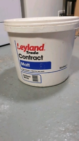 White Emulsion Paint. 15 Ltrs