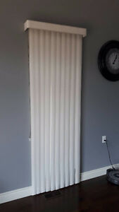 """Vertical Blinds (Set of 2) - $40 for both 33.5"""" x 87.5"""""""