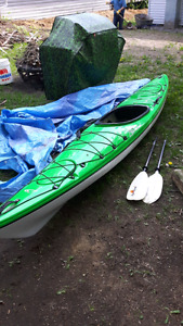 Kayak for Sale - 1200 includes roof rack and paddle