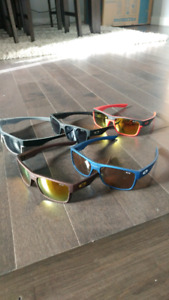 LUNETTE REPRODUCTION DE OAKLEY TWOFACE VOIR PHOTOS