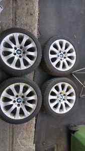 "BMW 17"" winter tires run flat 335 328 225/45/17"