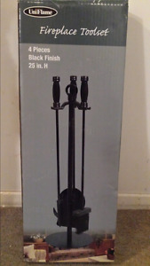 Fireplace toolset new in box