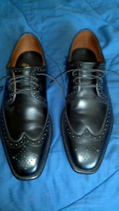 $450 Allen Edmonds Black Dress Oxfords 9D
