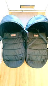Mountain Buggy Duet cocoon x2