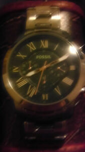 Mens Fossil Watch