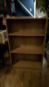 BOOK CASE/SM TABLE/CORNER STAND/2 SHOE RACKS