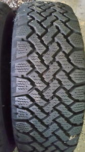 2 - winter tires 195/60/15