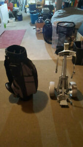 Golf Bag and Cart