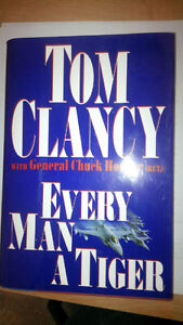 Tom Clancy signed book