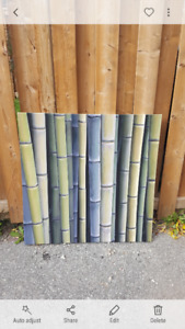 Wall art-bamboo