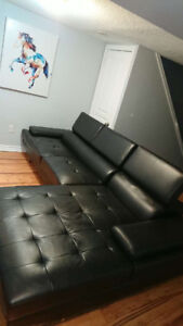 BARELY USED SECTIONAL COUCH FOR SALE- ONLY 580$