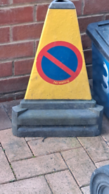 No parking cones