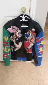 Ren and Stimpy leather jacket