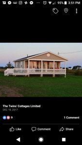 PEI Ocean front cottages weekly rentals
