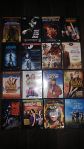 Huge Lot of DVDs & some Blue Rays. some really rare