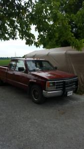 89 Chevy ext cab long box manual