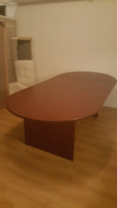 MAHOGANY CONFERENCE TABLE