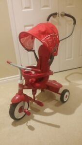 Radio Flyer Steer & Stroll Trike - Red colour