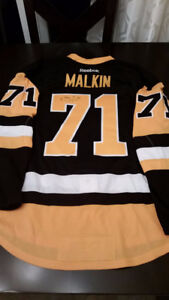Team Issued Evgeni Malkin Autographed Pittsburgh Penguins Jersey