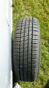 2 All season tires and rims P205/75 R14
