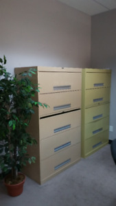 5 Drawer Legal Size Filing Cabinets