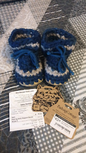 Padraig slippers baby size 5