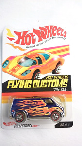 HOT WHEELS FLYING CUSTOMS 70S VAN RLC DIE CAST MINT 2291/12500